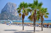 Beach in Calpe, Spain