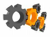 3D Gears. Solution Concept.
