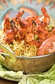 Indian food, Bhuna Prawn, Bhoona