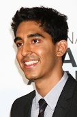 LOS ANGELES - FEB 1:  Dev Patel arrives at the 44th NAACP Image Awards at the Shrine Auditorium on F