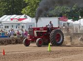 International Turbo Bushville Lanes Tractor Smoking