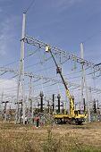 Repairing High Voltage Power Lines