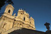 baroque saint nicola church in noto