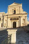 europe, italy, sicily, noto baroque church