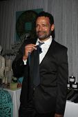LOS ANGELES - FEB 1: Mario Van Peebles in the Bellafortuna Entertainment gifting suite at the NAACP