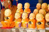 Buddhist Monk souvenir stall