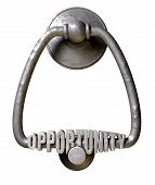 Opportunity Knocks Door Knocker