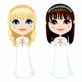 First Communion Girls