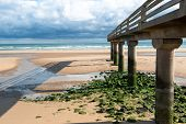 Omaha Beach , Normandy, France