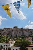 Plaka Neighborhood Acropolis