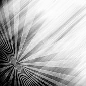 abstract rays pattern