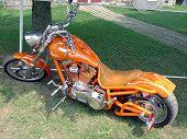 Orange Flame Bike