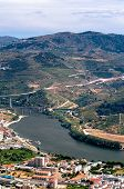 Regua, Vineyars In Douro Valley