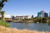 Sacramento City Skyline