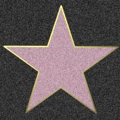Star On The Walk Of Fame, Illustration
