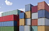 Cargo Containers at a dock