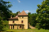 Typical house in the French Dordogne