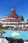 A Shot Of The Hotel Del Coronado