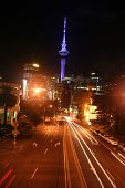 Auckland Streets At Night