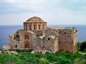 Ayia Sophia Church At Monemvasia, Greece