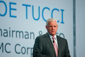 San Francisco, Ca, Sept 24, 2013 - Emc Ceo  Joe Tucci Makes Speech At Oracle Openworld Conference In