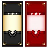 Greeting Cards Black And Red