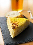 Typical Spanish Pincho De Tortilla De Patatas