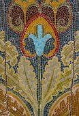 Flower Mosaix Background