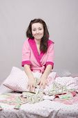 Girl In Bed Unexpectedly Received An Inheritance