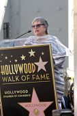 LOS ANGELES - MAR 17:  Kathy Bates at the Kate Winslete Hollywood Walk of Fame Star Ceremony at W Ho