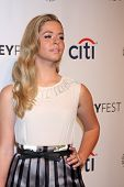 LOS ANGELES - MAR 16:  Sasha Pieterse at the PaleyFEST -