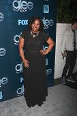 LOS ANGELES - MAR 18:  Amber Riley at the GLEE 100th Episode Party at Chateau Marmont on March 18, 2