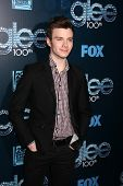 LOS ANGELES - MAR 18:  Chris Colfer at the GLEE 100th Episode Party at Chateau Marmont on March 18,