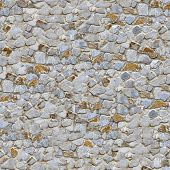 Stone Wall. Seamless Tileable Texture.