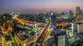 Bangkok View In Night Time