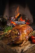 pic of barbary duck  - duck roast - JPG