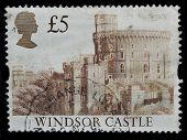 United Kingdom Postage Stamp, Castle