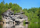Rockwood lake, Ontario, Canada
