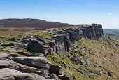 Derbyshire Peaks Stanage Edge England