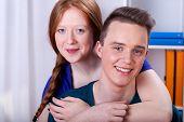 Young Teenagers Couple