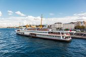 Traditional Istanbul passenger ferry
