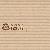 Vector Brown Cardboard Texture