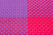 Four Colors Quarters Pattern