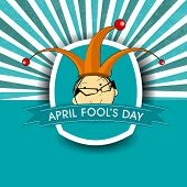 foto of fool  - April Fools Day funky concept for April Fools Day - JPG