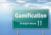 Highway Signpost Gamification