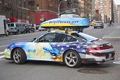 Help Ukraine painted car in Manhattan