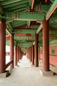 Korean traditional corridor