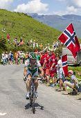 The Cyclist Jonathan Hivert
