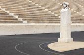 Panathenaic Stadium In Athens. Greece