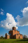 Transfiguration Church In Kovalyovo. Novgorod.. Russia